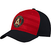 adidas Men's Atlanta United Authentic Structured Black/Red Flex Hat