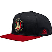 adidas Men's Atlanta United Authentic Black Snapback Adjustable Hat
