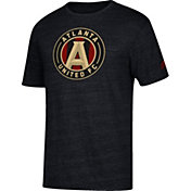 adidas Men's Atlanta United Vintage Black Heathered T-Shirt