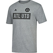 adidas Men's Atlanta United Bar None Heather Grey T-Shirt