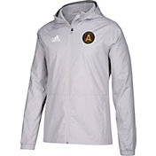 adidas Men's Atlanta United Grey Rain Jacket
