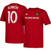 adidas Men's Atlanta United Miguel Almiron #10 Red Player T-Shirt
