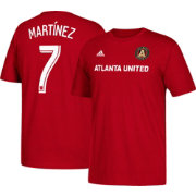 adidas Men's Atlanta United Josef Martinez #7 Player Red T-Shirt