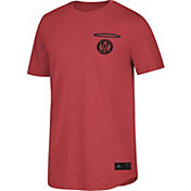 adidas Men's Atlanta United Pocket Red Heathered T-Shirt