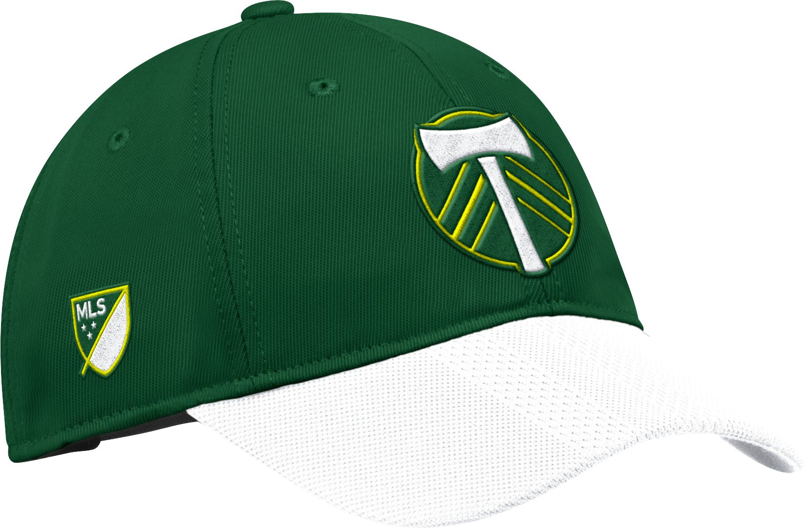 best cheap 616be a14bb ... switzerland adidas mens portland timbers authentic slouch green  adjustable hat 01688 ea7a6