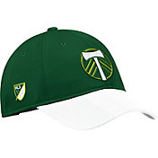 adidas Men's Portland Timbers Authentic Slouch Green Adjustable Hat