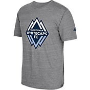 adidas Men's Vancouver Whitecaps Vintage Crest Grey T-Shirt