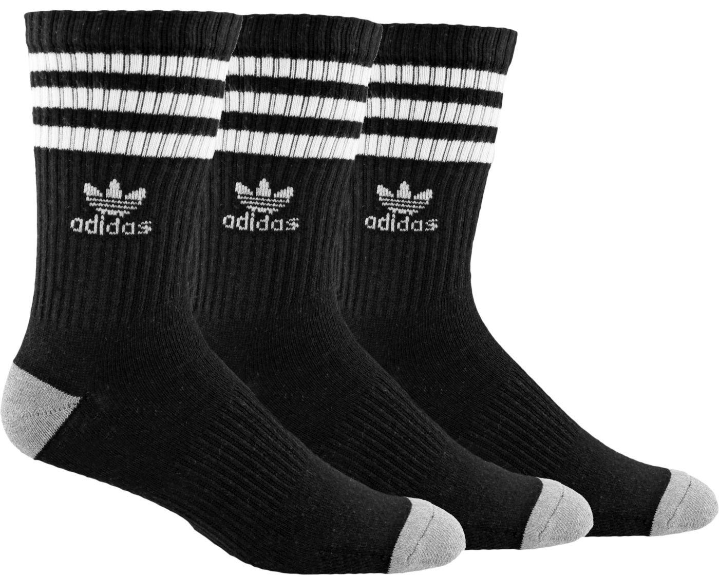 adidas Men's Originals Roller Crew Socks 3-Pack