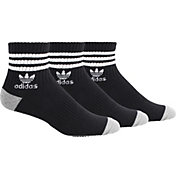 adidas Men's Originals Roller Quarter Socks 3-Pack