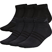 adidas Men's Superlite II Low Cut Socks - 6 Pack
