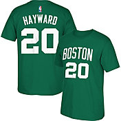 adidas Men's Boston Celtics Gordon Hayward #20 Kelly Green T-Shirt