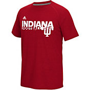 adidas Men's Indiana Hoosiers Crimson Sideline Grind Ultimate T-Shirt