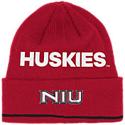 adidas Men's Northern Illinois Huskies Cardinal Cuffed Knit Beanie