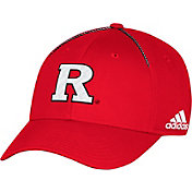 adidas Men's Rutgers Scarlet Knights Scarlet Sideline Coaches Structured Flex Hat