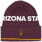 adidas Men's Arizona State Sun Devils Maroon Cuffed Knit Beanie
