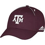 adidas Men's Texas A&M Aggies Maroon Sideline Coaches Structured Flex Hat