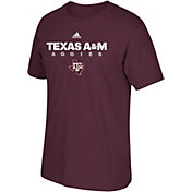 adidas Men's Texas A&M Aggies Maroon Cotton T-Shirt
