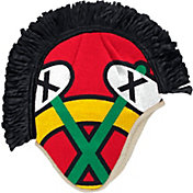 adidas Men's Chicago Blackhawks Mohawk Red Knit Beanie