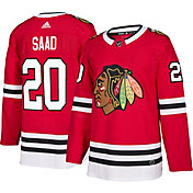 adidas Men's Chicago Blackhawks Brandon Saad #20 Authentic Pro Home Jersey
