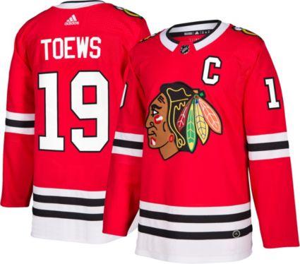 56aea96b2 adidas Men s Chicago Blackhawks Jonathan Toews  19 Authentic Pro Home Jersey.  noImageFound