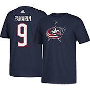 adidas Men's Columbus Blue Jackets Artemi Panarin #9 Navy T-Shirt