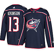 adidas Men's Columbus Blue Jackets Cam Atkinson #13 Authentic Pro Home Jersey