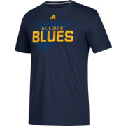 adidas Men's St. Louis Blues Go-To Shift Navy Performance T-Shirt
