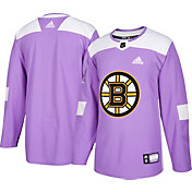 adidas Men's Boston Bruins Hockey Fights Cancer Authentic Pro Jersey