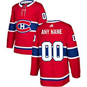 adidas Men's Custom Montreal Canadiens Authentic Pro Home Jersey