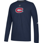 adidas Men's Montreal Canadiens Primary Position Ultimate Navy Long Sleeve Shirt