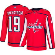 adidas Men's Washington Capitals Nicklas Backstrom #19 Authentic Pro Home Jersey