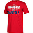 adidas Men's Washington Capitals The Go-To Red Performance T-Shirt