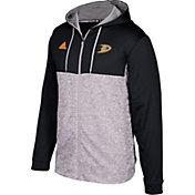 adidas Men's Anaheim Ducks Black/Grey Full-Zip Hoodie