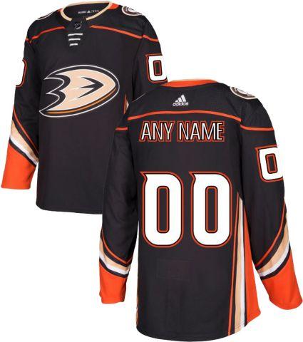 bdc287c52 adidas Men s Custom Anaheim Ducks Authentic Pro Home Jersey
