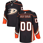 adidas Men's Custom Anaheim Ducks Authentic Pro Home Jersey