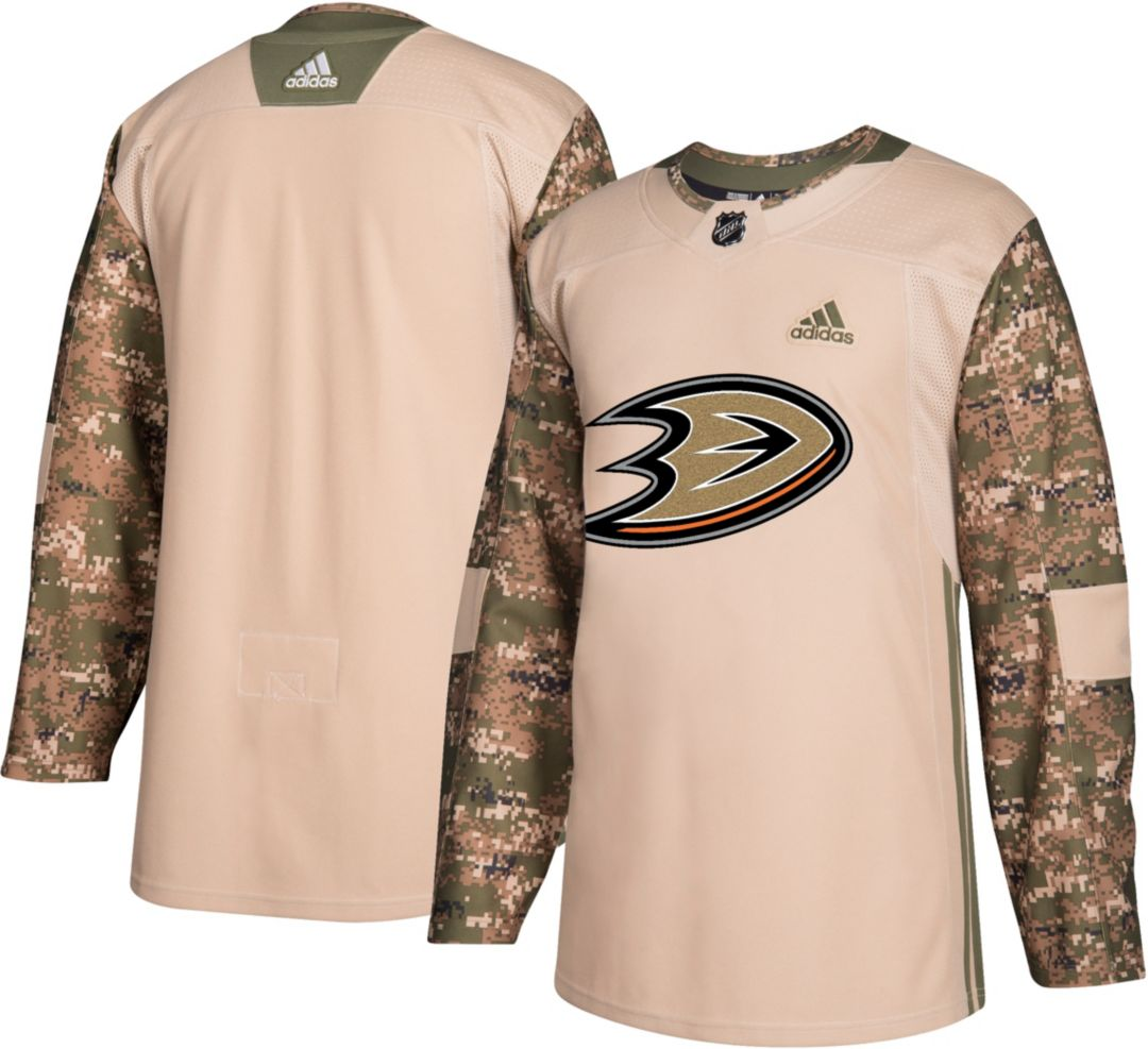 buy popular b35f5 90209 adidas Men's Anaheim Ducks Camo Authentic Pro Jersey ...