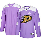 adidas Men's Anaheim Ducks Hockey Fights Cancer Authentic Pro Jersey