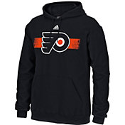 adidas Men's Philadelphia Flyers Black Pullover Hoodie