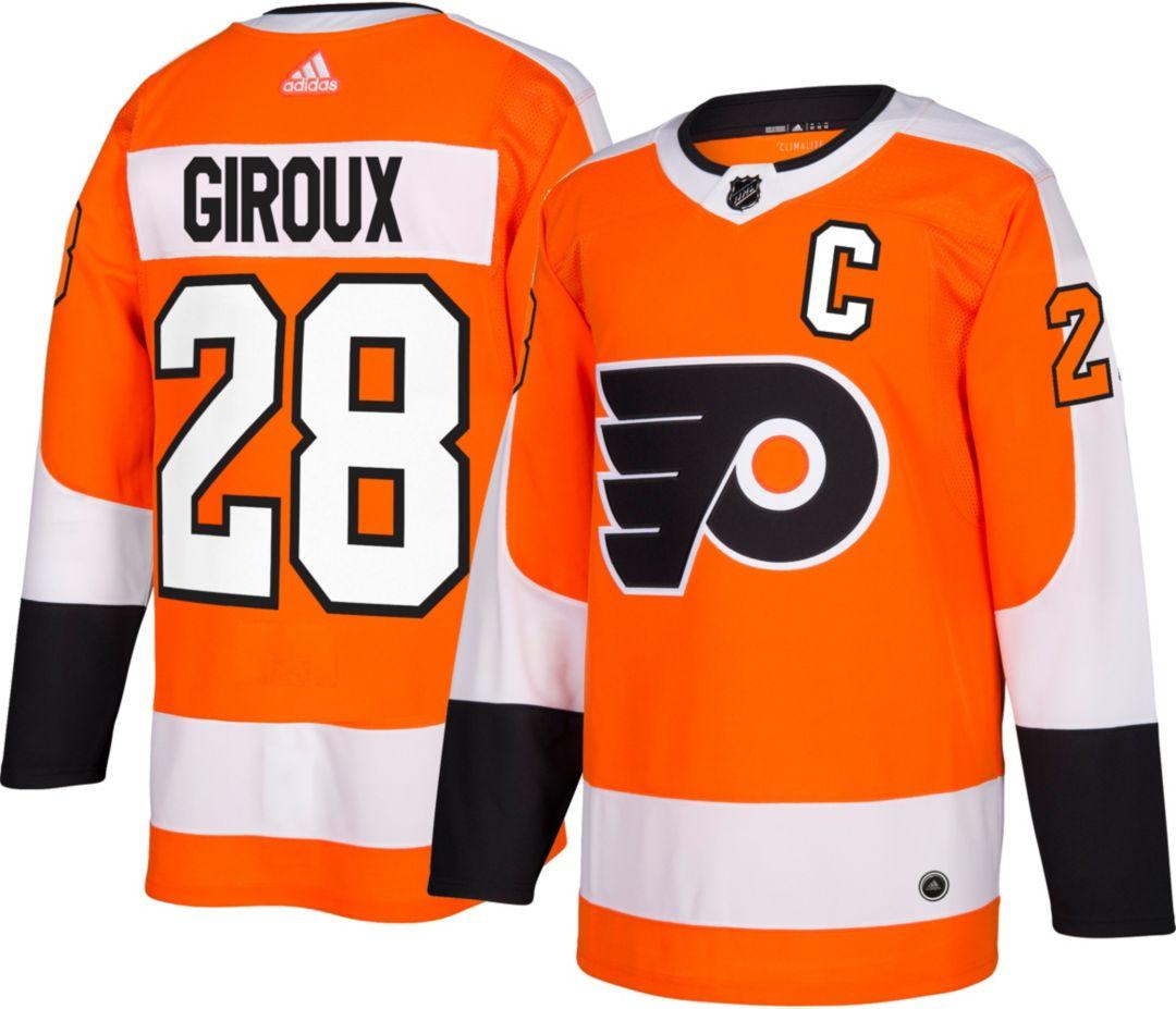 sports shoes 468b6 bbde3 adidas Men's Philadelphia Flyers Claude Giroux #28 Authentic Pro Home Jersey