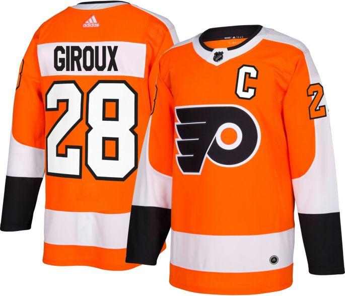 adidas Men's Philadelphia Flyers Claude Giroux #28 Authentic Pro Home Jersey