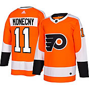 adidas Men s Philadelphia Flyers Travis Konecny  11 Authentic Pro Home  Jersey d5dd66225738