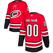 e10b5aff59c adidas Men's Custom Carolina Hurricanes Authentic Pro Home Jersey