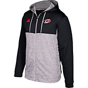 adidas Men's Carolina Hurricanes Red/Grey Full-Zip Hoodie