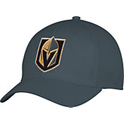 adidas Men's Vegas Golden Knights Team Colored Basic Structured Black Flex Hat