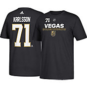 adidas Men's Vegas Golden Knights William Karlsson #71 Black T-Shirt