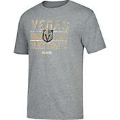 CCM Men's Vegas Golden Knights Line Brawl Heather Grey T-Shirt