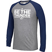 adidas Men's Tampa Bay Lightning Dassler Local Ultimate Grey/Navy Performance Long Sleeve Shirt