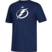 adidas Men's Tampa Bay Lightning Big Logo Navy T-Shirt