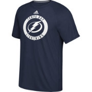adidas Men's Tampa Bay Lightning Practice Ultimate Royal Performance T-Shirt
