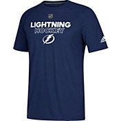 adidas Men's Tampa Bay Lightning Authentic Ice Ultimate Royal Performance T-Shirt
